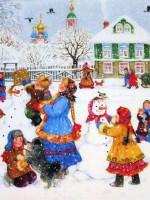 Новогодним потехам мороз не помеха!