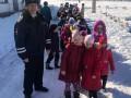 Профилактическую акцию «Шагающий автобус» в СОШ №14 провели сотрудники полиции