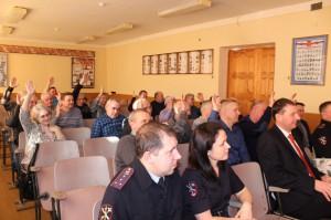 Состоялось отчётно-выборное собрание ветеранов Тавдинского ОВД с подведением итогов за прошедший год